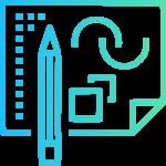 Vetorização de logo - Rampineli